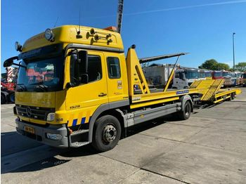 Mercedes-Benz ATEGO 1529 L 4X2 - OMARS 3 LADER + TIJHOF 2AS AA  - Autotransporter LKW