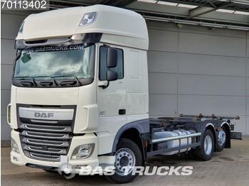 Containerwagen/ Wechselfahrgestell LKW DAF XF 460 6X2 SSC ACC Liftachse Euro 6: das Bild 1