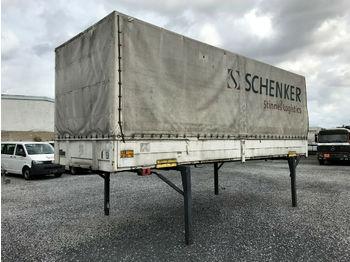 Containerwagen/ Wechselfahrgestell LKW Schmitz / Krone Wechselbrücken 6 stk