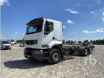 RENAULT PREMIUM 460 6x2 - Fahrgestell LKW