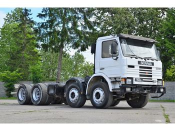 SCANIA 113H 310 chassis 8x4 1990 - Fahrgestell LKW
