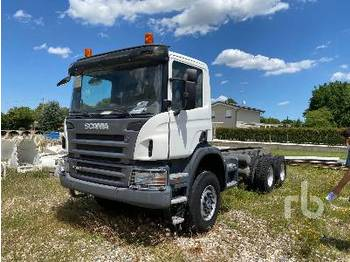 SCANIA P380CB 6x6 - Fahrgestell LKW