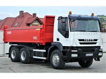 Kipper Iveco Trakker 410 Kipper + Bordmatic 5,20m 6x4