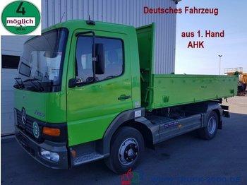 Mercedes-Benz 818 Atego Meiller 3 S. 1.Hand AHK Deutscher LKW - Kipper