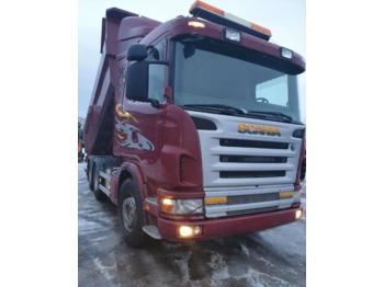 Scania 124 6x4 dump tipper truck 470 hp  - Kipper