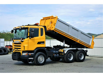 Scania  G480 Dreiseitenkipper 4,80m + Bordmatic*6x4!  - Kipper