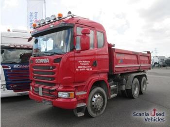 Scania R 450 CB 6X4 MHZ 3 Seiten Kipper Boardmatik AP Ach - Kipper