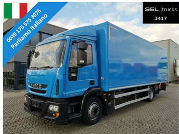 Iveco Eurocargo 120E28 /Ladebordwand /3 Sitze / German  - Koffer LKW