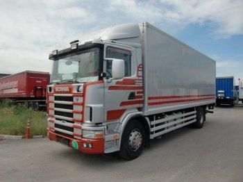 Scania R124 420 Koffer, Ladebordwand ,Euro3 - Koffer LKW
