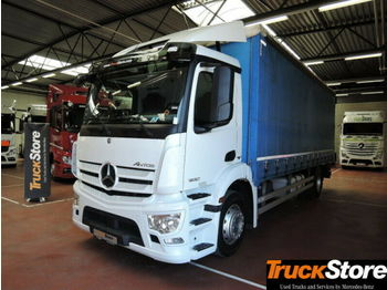 Mercedes-Benz Antos 1830 L Curtainsider Brake-Assist ABS/ASR  - Plane LKW