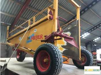 Hooi-/ voedermachine Meijer Flintstone Stapelaar Bale Sledge