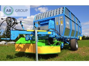 Zamet MähladewagenT653/1 19m3 /Green Forage Mower/ Ścinacz zielonek/ZAMET прицеп для зеленой массы с косилкой T635/1 - hooi-/ voedermachine