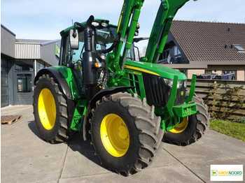 John Deere 6100M PQ Traktor Trekker - landbouw tractor