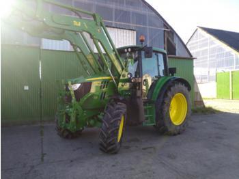 John Deere 6125M Top Zustand - landbouw tractor