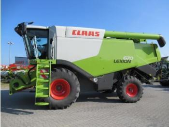 CLAAS LEXION 670 - maaidorser
