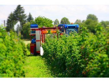 Wijnoogstmachine WEREMCZUK Raspberry, blackberry, blueberry harvester KAREN