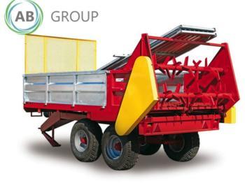 Dungstreuer IGAMET Miststreuer Kompoststreuer/Manure spreader/Rozrzutnik obornika N255/1 6T