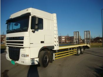 Biltransportbil lastbil DAF xf410 6x2 oprijbak 8.50L , rampen,lier nieuw