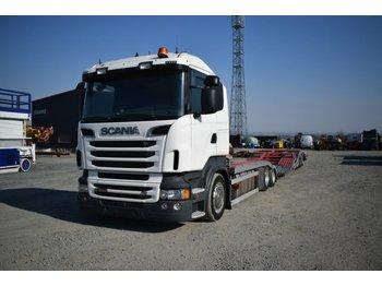 Biltransportbil lastbil Scania R 560 / LKW Transporter