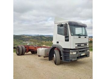 IVECO Eurotech 190E31 left hand drive 19 ton ZF manual - chassi lastbil