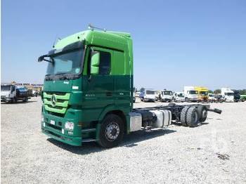 MERCEDES-BENZ ACTROS 2555 6x2 - chassi lastbil