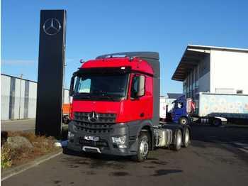 Chassi lastbil Mercedes-Benz Arocs 2643 LS 6x6 HAD Allrad, Retarder, Kipphydr