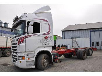 Chassi lastbil SCANIA R480 EURO 6X2