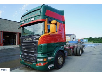 Chassi lastbil Scania R560