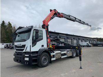 IVECO XWay 260S48 6x2*4 - containerbil/ växelflak lastbil
