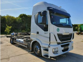 Iveco AS190S42  - containerbil/ växelflak lastbil