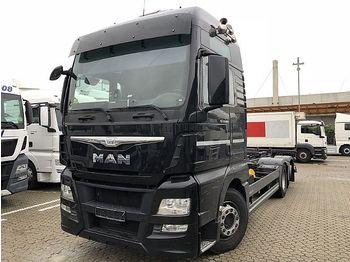 Containerbil/ växelflak lastbil MAN TGX 26.400 6X2-4 LL: bild 1