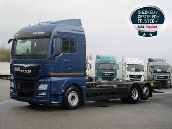 Containerbil/ växelflak lastbil MAN TGX 26.440 6X2-2 LL