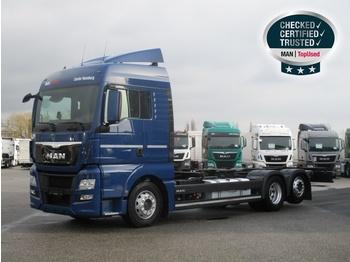Containerbil/ växelflak lastbil MAN TGX 26.480 6X2-2 LL