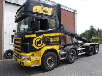Scania R164.480 8x2 - containerbil/ växelflak lastbil