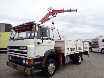 DAF 1700 TURBO + Crane 7500D + PTO + BLAD-BLAD - lastbil