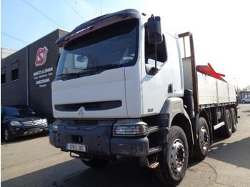 Flakbil Renault Kerax 420 DCI 8x4 chassis