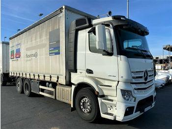 Kapellbil Mercedes-Benz 2545 Actros 6x2 Euro6 Mitnahmestapler HIAB