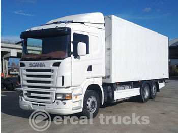 SCANIA 2007 R420 6X2 RETARDER NEW ENGINE - REFRIGERATED WITH CARRIER UN - kylbil lastbil