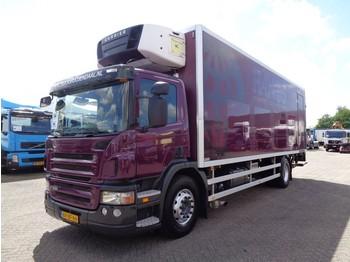 Kylbil lastbil Scania P 230 + LIFT + Carrier Supra 950Mt + 3pedals
