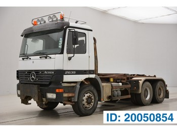 Mercedes-Benz Actros 2635K - 6x4 - lastbil kroghejs