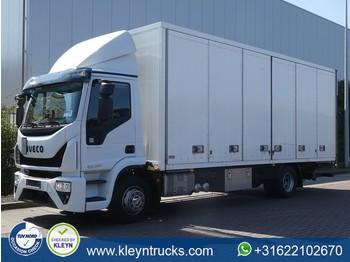 Lastbil med skåp Iveco 120E25 EUROCARGO euro 6 lift 2,5 tons