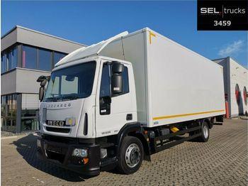 Lastbil med skåp Iveco Eurocargo ML 120E25P / Manual / German