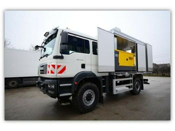 MAN TGM 18.320 4x4 /MOBILE WORKSHOP  - lastbil med skåp