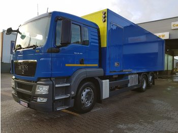 MAN TGS 26.320 6x2 LL Koffer / EEV / Lenkachse - lastbil med skåp
