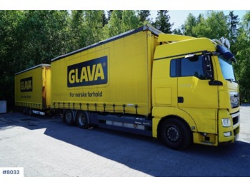 MAN TGX26.480 - lastbil med skåp
