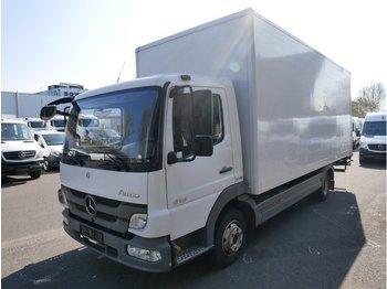 Lastbil med skåp MERCEDES-BENZ Atego 816 Koffer mit LBW Ladebordwand