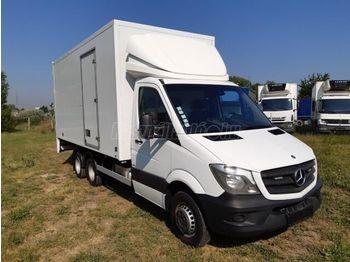 Lastbil med skåp MERCEDES-BENZ SPRINTER 519 cdi BE vontató Clixtar+AWB Oplegger