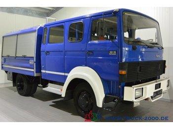 Magirus Deutz 90-16 Turbo 4x4 Mannschaft-Gerätewagen Neuwertig - lastbil med skåp