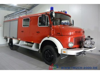 Mercedes-Benz 1113 LF16TS 4x4 Ex Feuerw Neuwertig nur 15400 km - lastbil med skåp