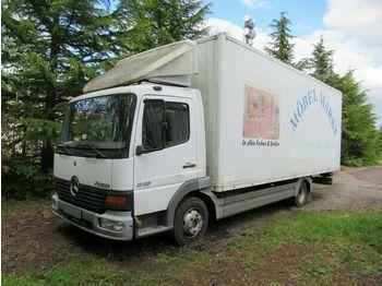 Lastbil med skåp Mercedes-Benz 815 Möbelkoffer, Klima, Möbelkoffer Alu
